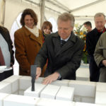Apr 03, 2008: laying the foundation stone